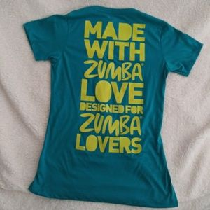 Blue Zumba Shirt in EU